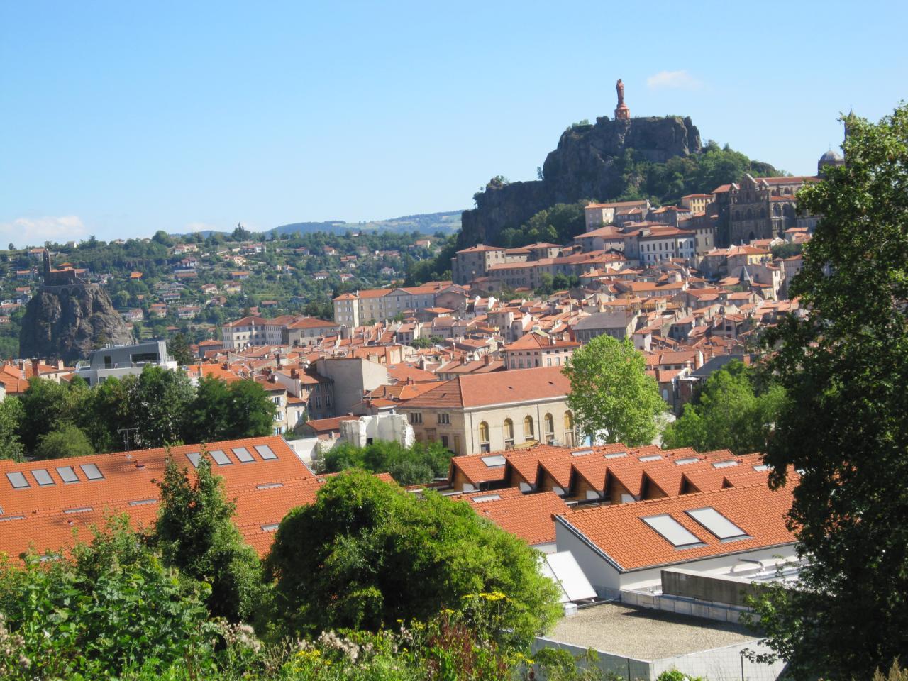 Vue sur Le Puy-en-Velay
